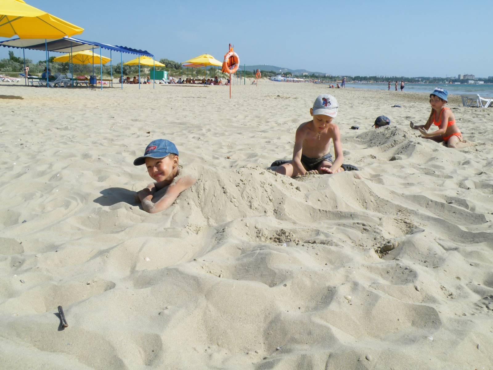 Пляжи Анапы 2018: песчаные, галечные, для детей, дикие 38
